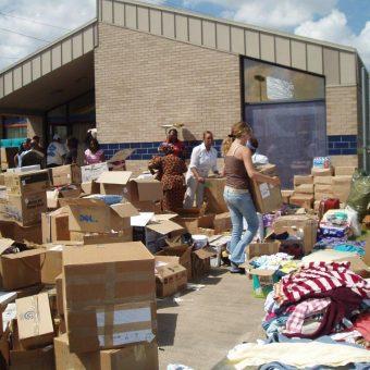 Katrina victims receive hope